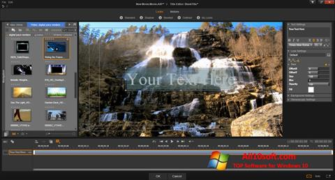 Screenshot Pinnacle Studio for Windows 10