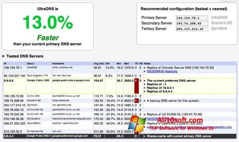 Screenshot NameBench for Windows 10