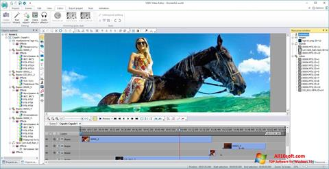 Screenshot VSDC Free Video Editor for Windows 10