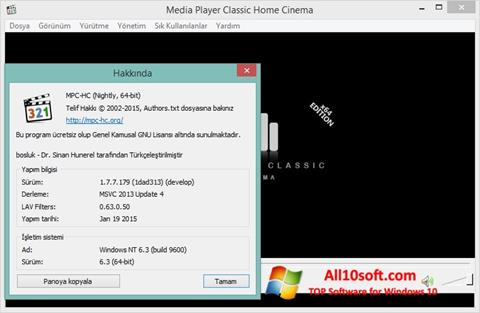 Screenshot K-Lite Codec Pack for Windows 10