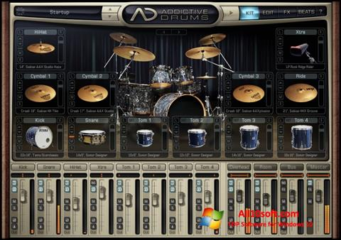 Screenshot Addictive Drums for Windows 10
