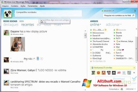 Screenshot Windows Live Messenger for Windows 10