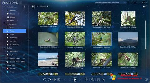 Screenshot PowerDVD for Windows 10