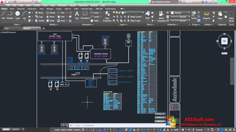 Screenshot AutoCAD Electrical for Windows 10