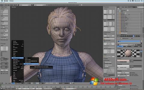 Screenshot Blender for Windows 10