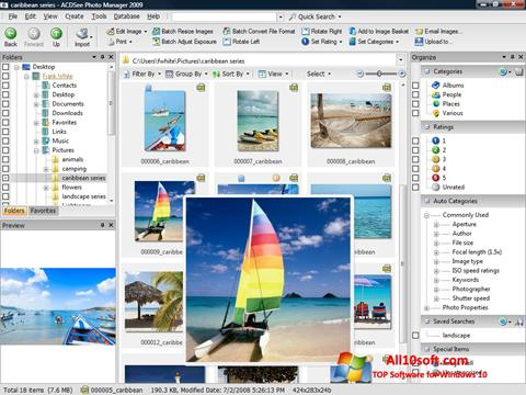 Screenshot ACDSee Photo Manager for Windows 10