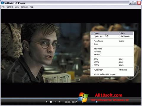 Screenshot FLV Player for Windows 10