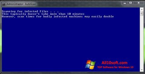 Screenshot ComboFix for Windows 10