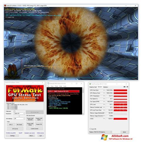 Screenshot FurMark for Windows 10
