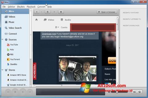 Screenshot Miro for Windows 10