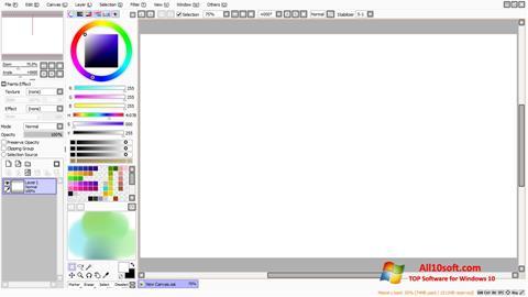 Screenshot Paint Tool SAI for Windows 10