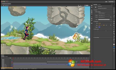 Screenshot Adobe Flash Professional for Windows 10