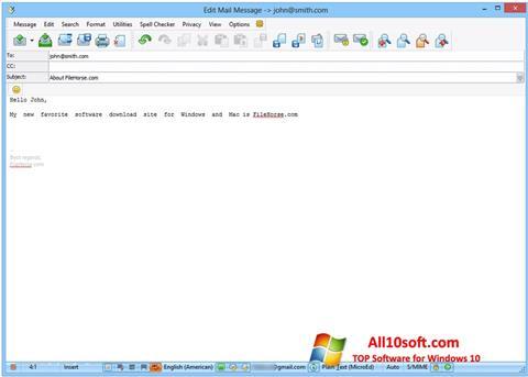 Screenshot The Bat! for Windows 10