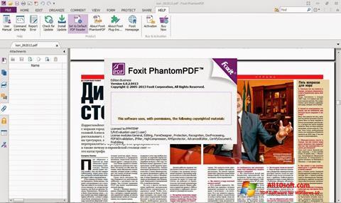 Screenshot Foxit Phantom for Windows 10