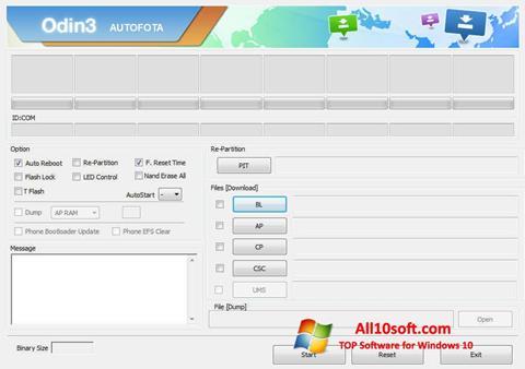 Screenshot Odin for Windows 10