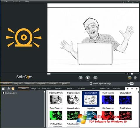 Screenshot SplitCam for Windows 10