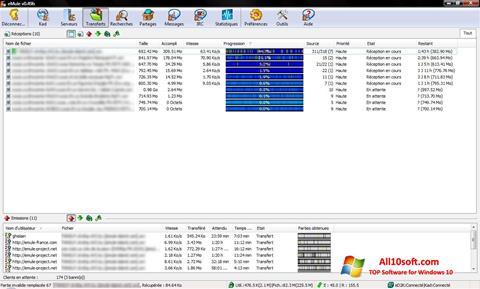 Screenshot eMule for Windows 10