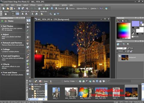 Screenshot PaintShop Pro for Windows 10
