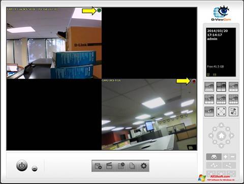 Screenshot D-ViewCam for Windows 10