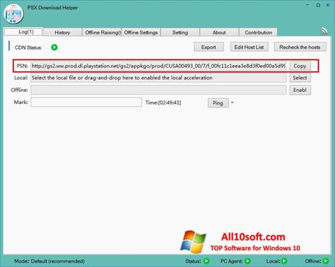 Screenshot DownloadHelper for Windows 10