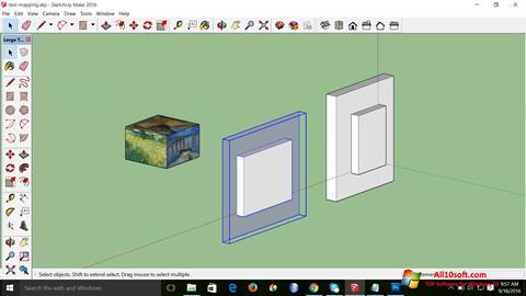 Screenshot SketchUp Make for Windows 10