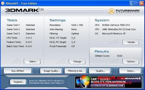 Screenshot 3DMark for Windows 10