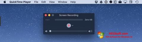 Screenshot QuickTime for Windows 10