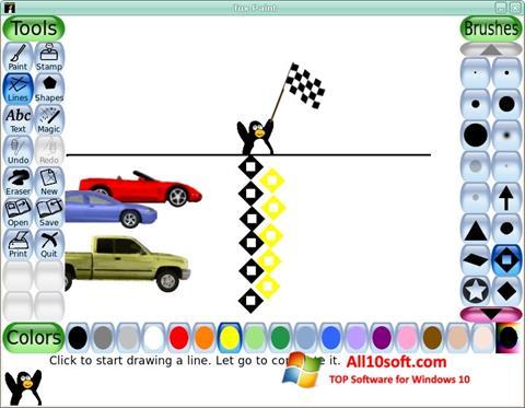 Screenshot Tux Paint for Windows 10