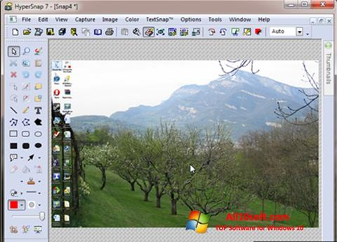 Screenshot HyperSnap for Windows 10
