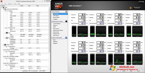 Screenshot AMD Overdrive for Windows 10