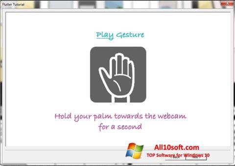 Screenshot Flutter for Windows 10