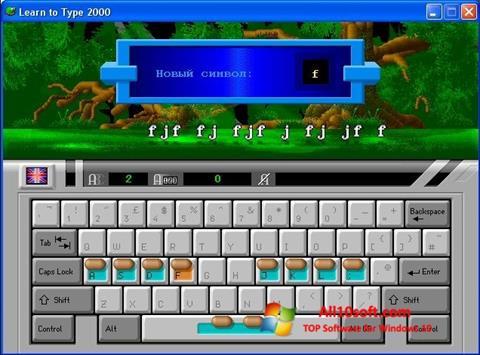 Screenshot BabyType for Windows 10