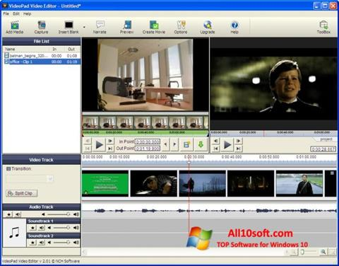 Screenshot VideoPad Video Editor for Windows 10