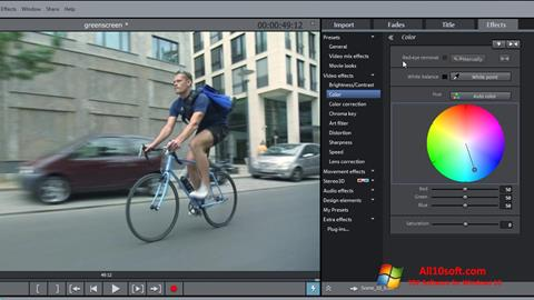 Screenshot MAGIX Movie Edit Pro for Windows 10