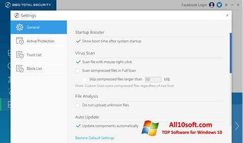 Screenshot 360 Total Security for Windows 10