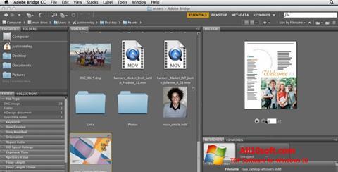 Screenshot Adobe Bridge for Windows 10