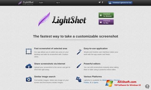 Screenshot LightShot for Windows 10