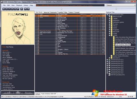 Screenshot Foobar2000 for Windows 10