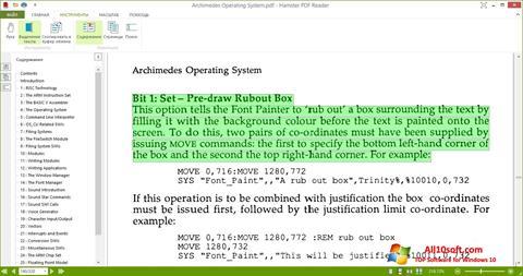 Screenshot Hamster PDF Reader for Windows 10