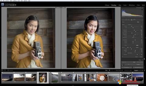 Screenshot Adobe Photoshop Lightroom for Windows 10