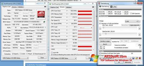 Screenshot ATI Tray Tools for Windows 10