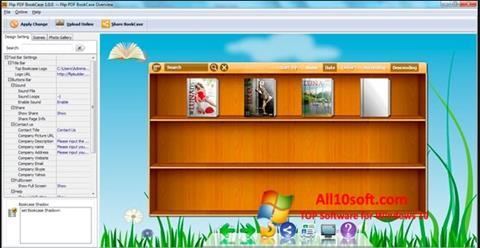 Screenshot Bookshelf for Windows 10