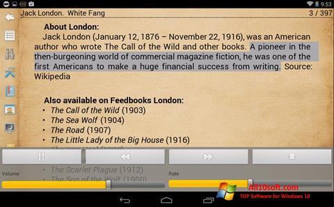 Screenshot Cool Reader for Windows 10