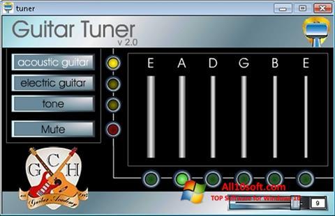 Screenshot Guitar Tuner for Windows 10