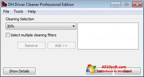 Screenshot Driver Cleaner for Windows 10