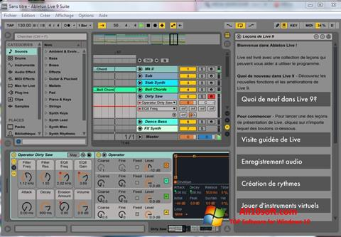 Screenshot Ableton Live for Windows 10