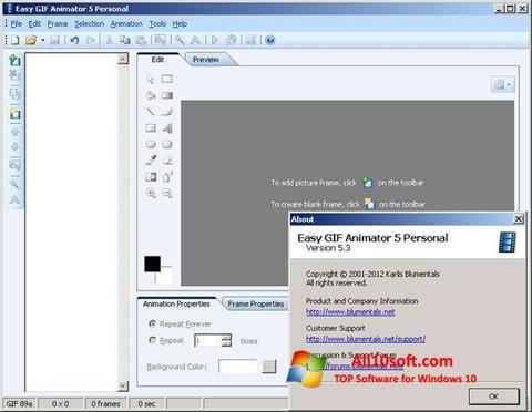 Screenshot Easy GIF Animator for Windows 10