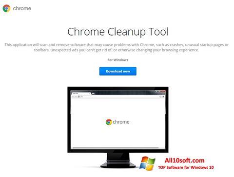 Screenshot Chrome Cleanup Tool for Windows 10