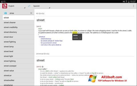 Screenshot ABBYY Lingvo for Windows 10