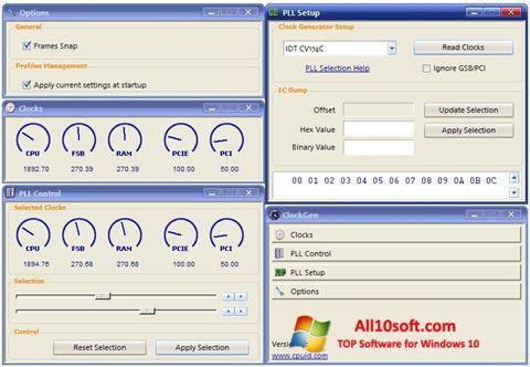 Screenshot ClockGen for Windows 10